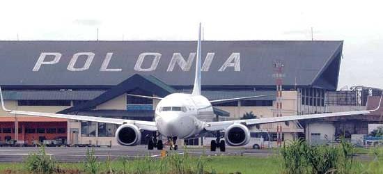 bandara polonia sumatera