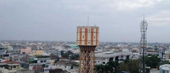Menara Tirtanadi Ikon Bangunan Kota Medan