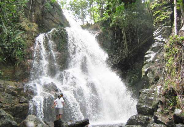 Air Terjun Guruh Gemurai Go Sumatra