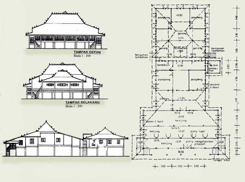 Rumah Limas Rumah Tradisional Sumatera Selatan Go Sumatra