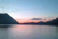 Matahari Terbit Danau Gunung Tujuh Jambi