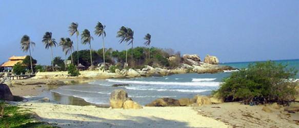 Pantai Parai Tenggiri Bangka, Sumatera