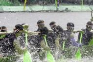 Peserta Festival Pacu Jalur, Riau