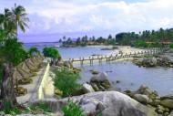 Resort Pantai Parai Tenggiri Pulau Sumatera