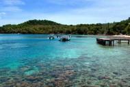 Pemandangan Pantai Iboih Sumatera