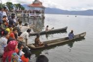 Salah satu Festival Masyarakat Peduli Danau Kerinci