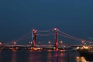 Keindahan Jembatan Ampera dan Sungai Musi, Palembang