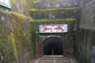 pintu masuk lubang jepang bukittinggi sumatera barat