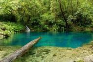 kejernihan air danau kaco jambi sumatera