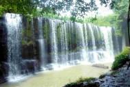 kolam air terjun temam lubuklinggau sumatera selatan
