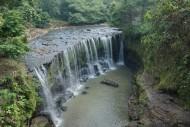 view air terjun temam lubuklinggau sumatera selatan