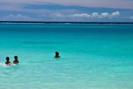 panorama pantai tureloto nias-sumatera utara