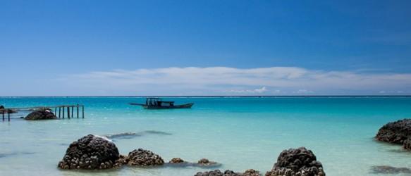 pantai tureloto nias sumatera utara