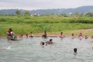 kermaian permandian air soda tapanuli sumatera utara